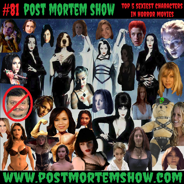 E081 Jd S Bear Attack Top 5 Sexiest Horror Movie Characters Post Mortem Show Horror Podcast